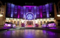 Lighting logo Volkswagen